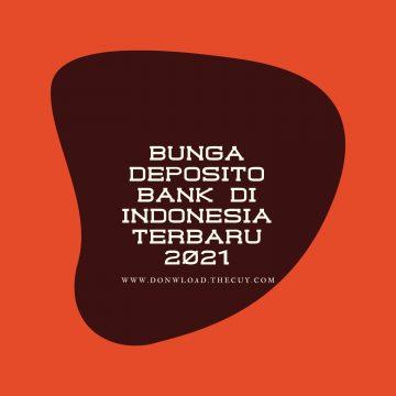 Bunga Deposito Bank di Indonesia Terbaru 2021